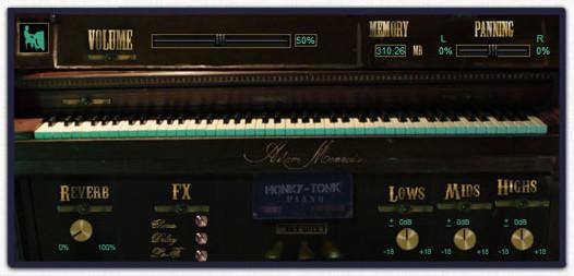 Adam Monroe Music - Honky Tonk Piano
