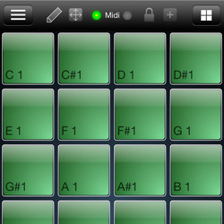 Crossfire Designs MidiPads for iPhone
