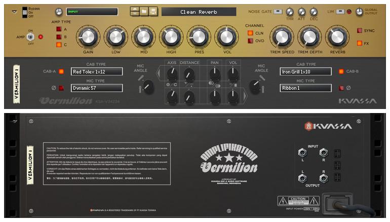 kuassa amplifikation vermilion re guitar amplifier effect. Black Bedroom Furniture Sets. Home Design Ideas
