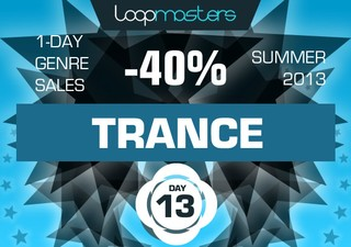 40% off Loopmasters Trance packs