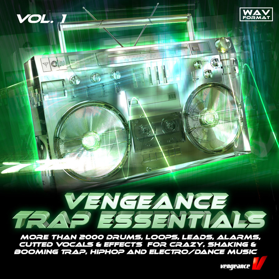 Vengeance Trap Essentials Vol 1 sample pack at reFX