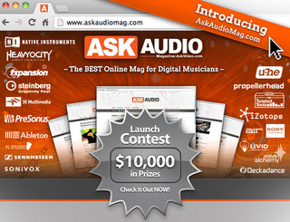 AskAudio Mag Launch Contest