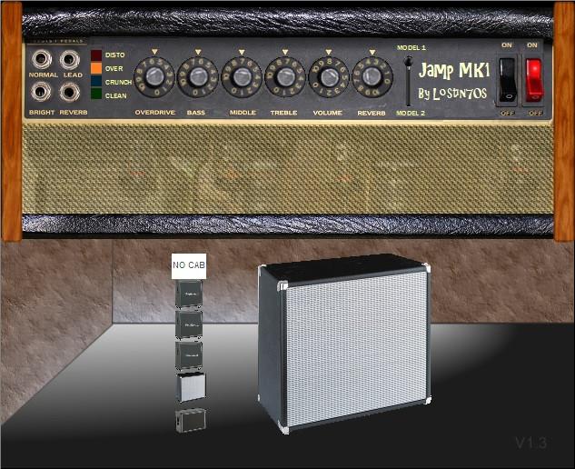 lostin70s jamp mk1 guitar amp effect plugin updated to v1 3. Black Bedroom Furniture Sets. Home Design Ideas