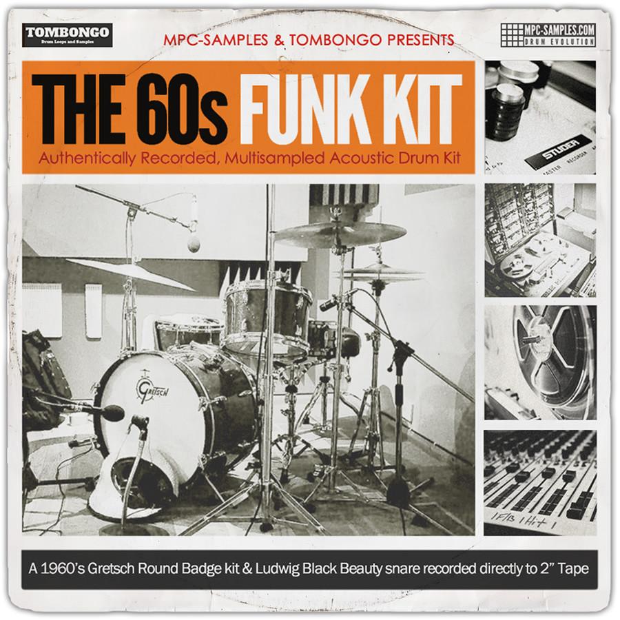 MPC-Samples The 60s Funk Kit multi-sampled drum kit