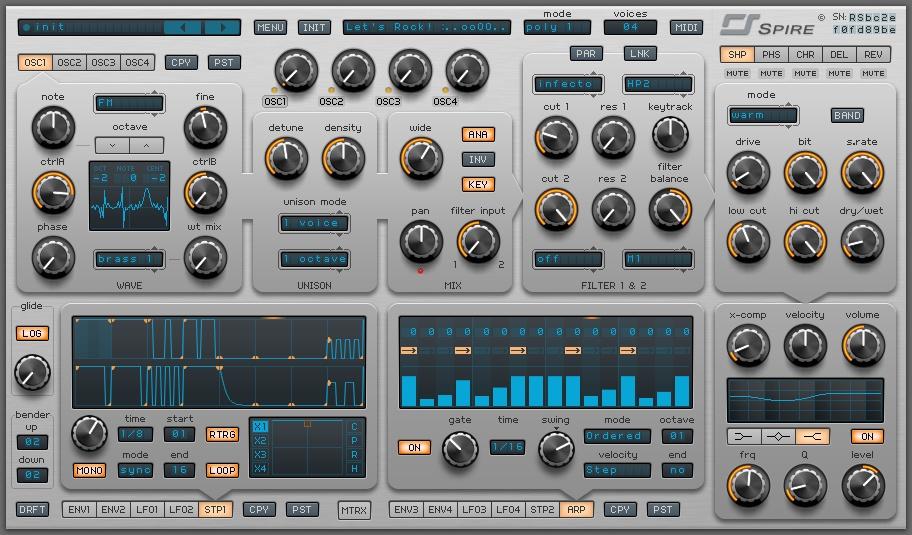 Reveal Sound Spire : 30 discount on spire synth plugin by reveal sound ~ Vivirlamusica.com Haus und Dekorationen