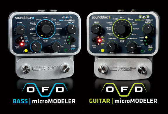 Source Audio OFD Guitar/Bass microModeler