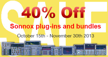Sonnox Autumn Sale