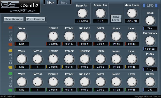 GVST effect and instrument plugins updated with 64-bit support