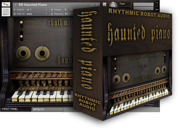 Rhythmic Robot Haunted Piano