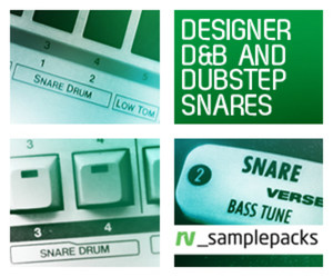 rv_samplepacks Designer D&B and Dubstep Snares