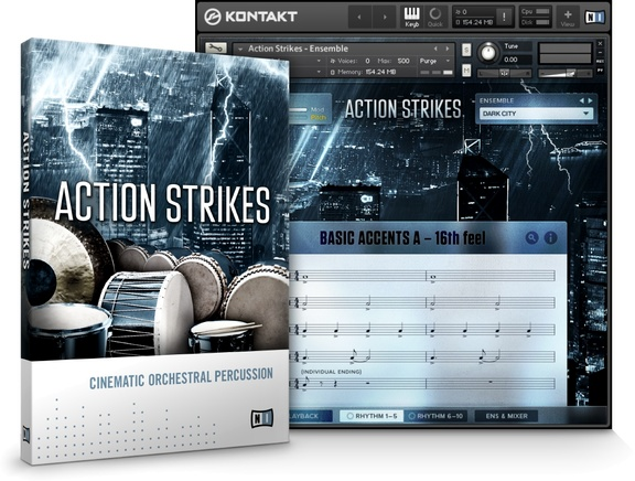 Native Instruments Action Strikes
