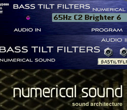 Numerical Sound Bass Tilt Filters