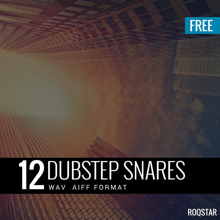 Roqstar 12 Dubstep Snares samples pack