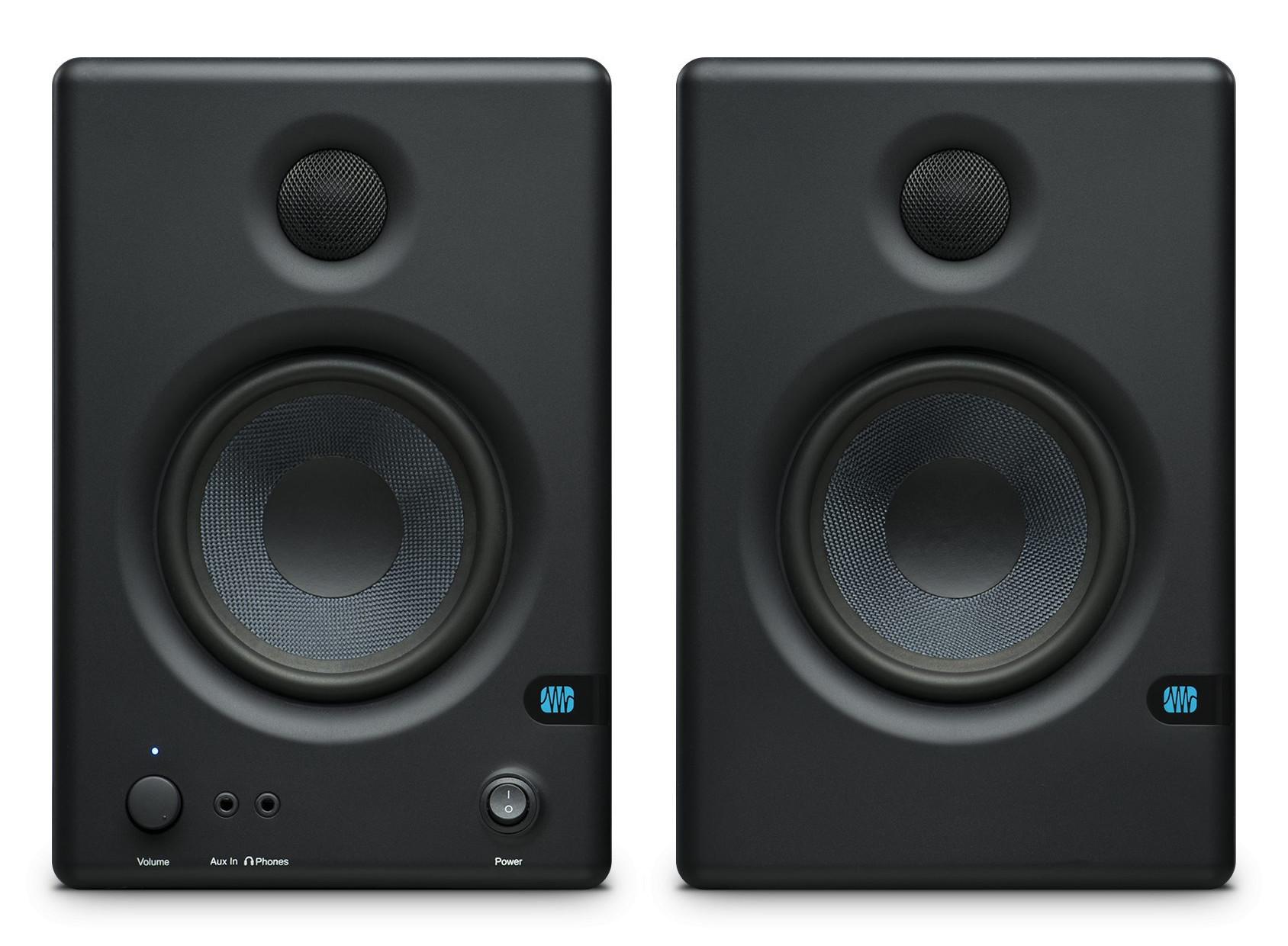 presonus eris e4 5 compact studio monitors. Black Bedroom Furniture Sets. Home Design Ideas