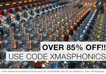 Samplephonics Christmas Sale
