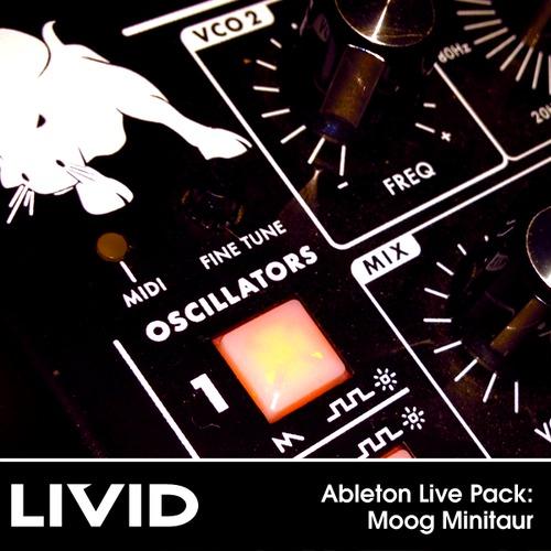 Livid Instruments Moog Minitaur free sample pack for Ableton Live