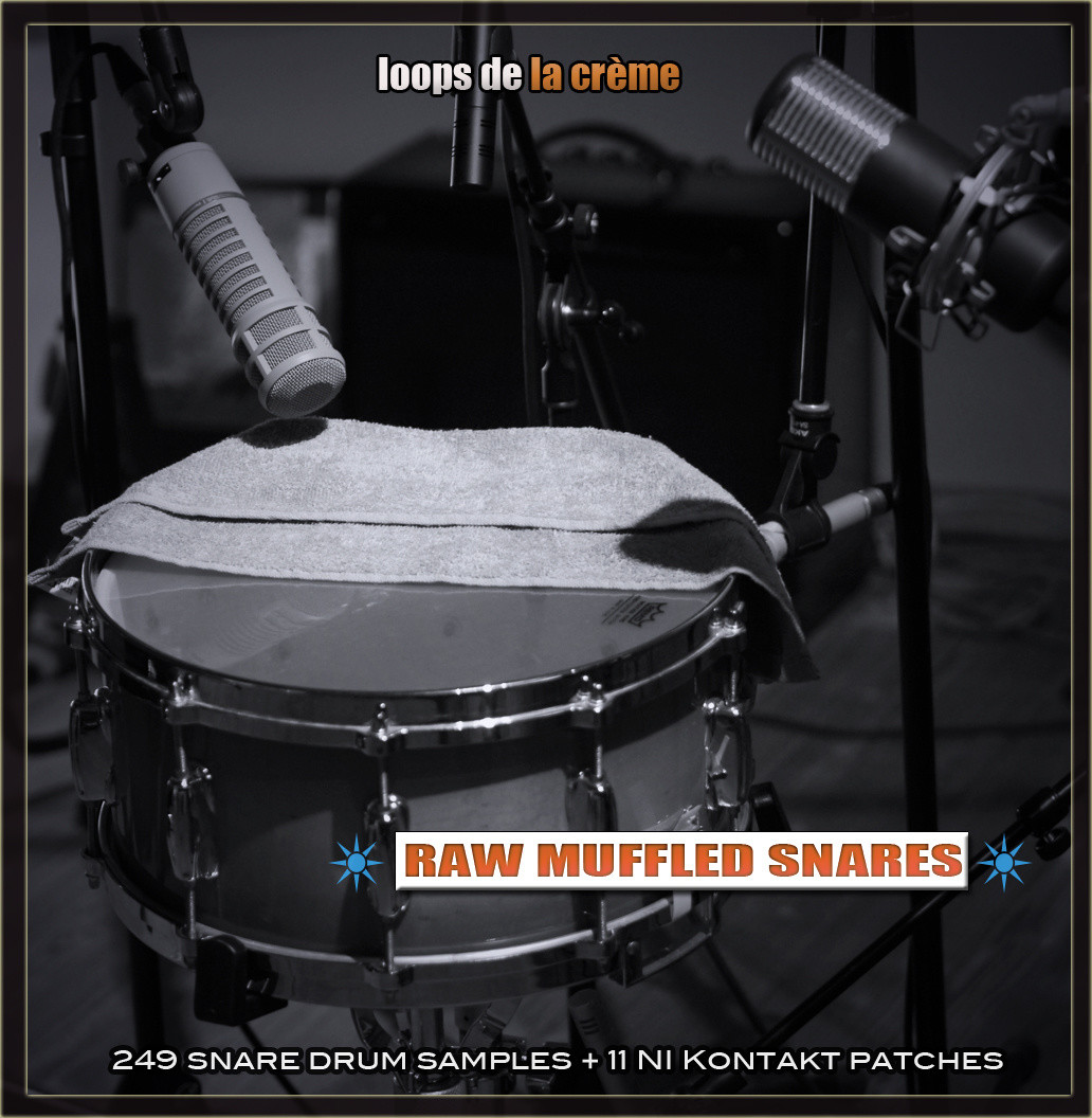 loops de la cr me raw muffled snares sample pack released 50 off. Black Bedroom Furniture Sets. Home Design Ideas