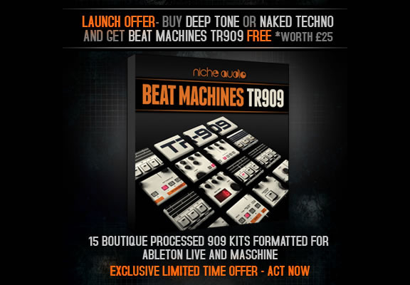 Niche Audio Beat Machines TR909