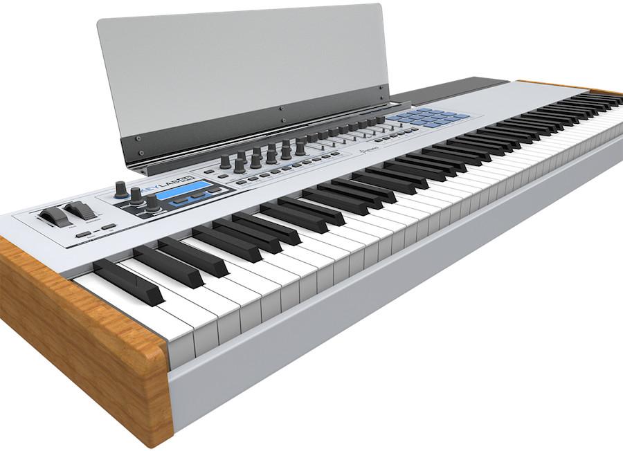 arturia keylab 88 midi controller keyboard introduced at musikmesse. Black Bedroom Furniture Sets. Home Design Ideas