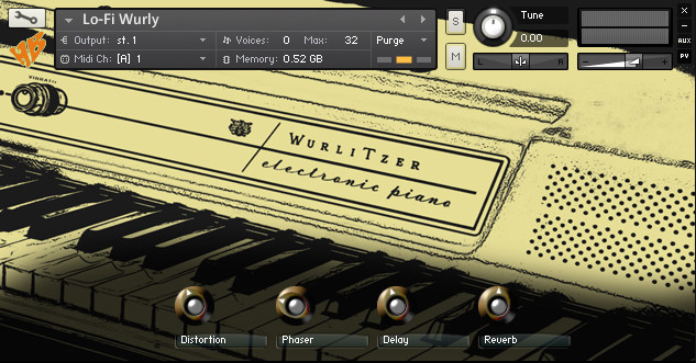 HeadlessBuddha Samples Lo-Fi Wurly electric piano for Kontakt released