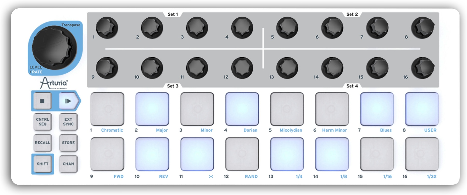 arturia beatstep controller  sequencer available now