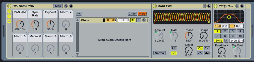 Audiomodern Rhythmic Pan Rack