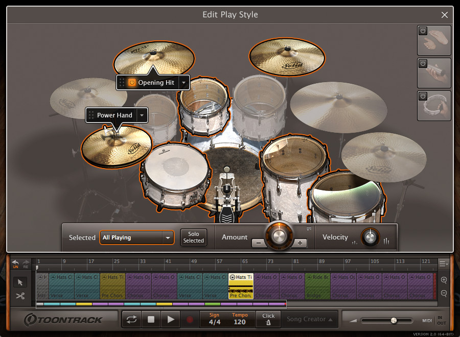 ezdrummer 2 virtual drum instrument released at toontrack. Black Bedroom Furniture Sets. Home Design Ideas
