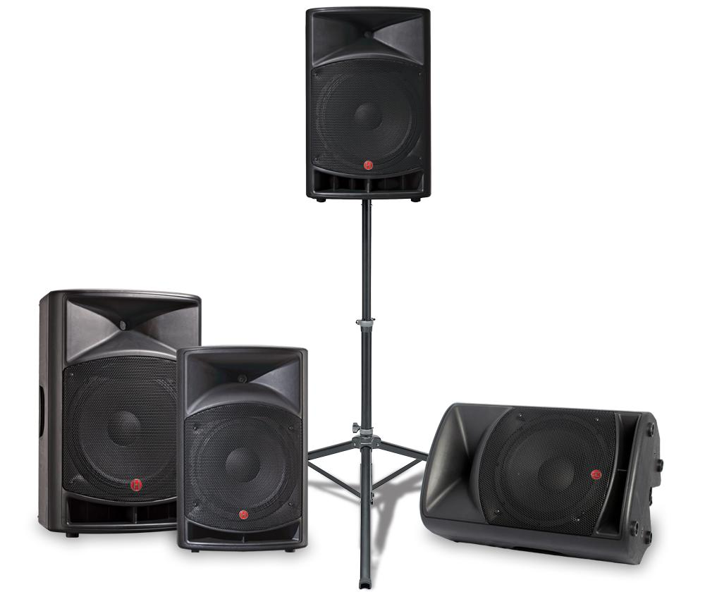 v ri series portable powered loudspeakers at harbinger pro audio. Black Bedroom Furniture Sets. Home Design Ideas