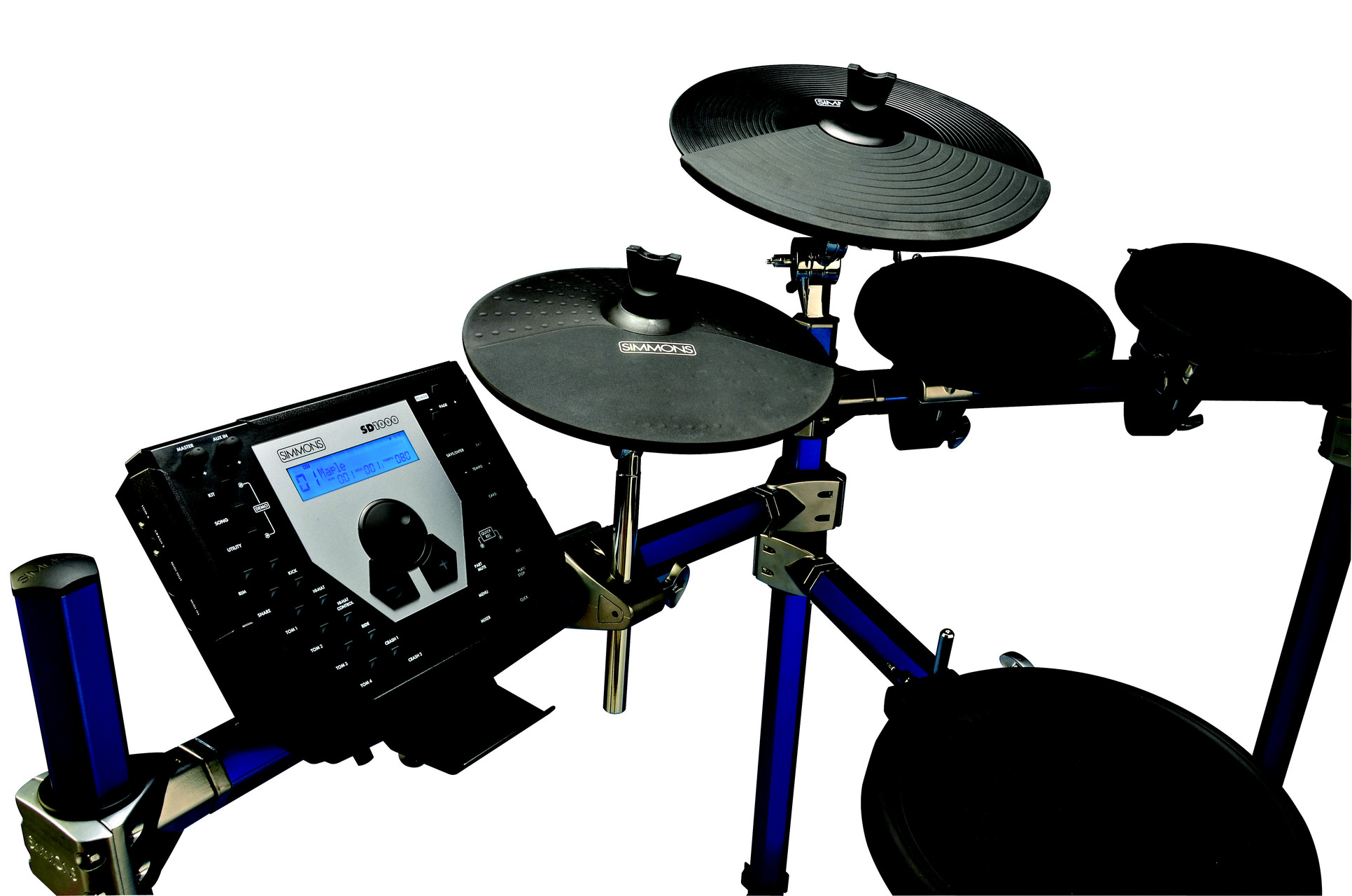Sd1500kit Electronc Drums From Simmons Introduced