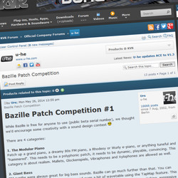 u-he Bazille Patch Competition #1