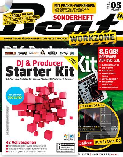Beat Workzone DJ & Producer Starter Kit at Falkemedia