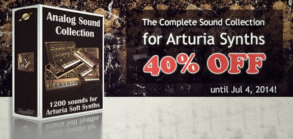 40% off Analog Sound Collection