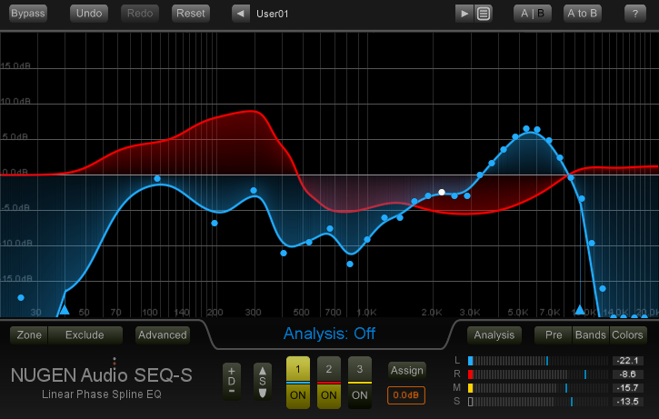 Seq S Equalizer Plugin Released By Nugen Audio