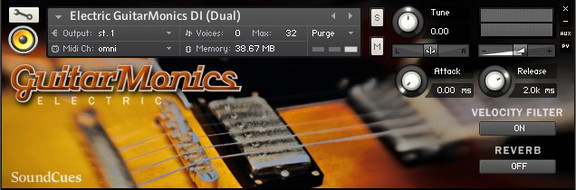 SoundCues GuitarMonics