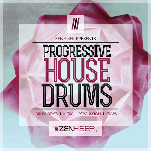 Progressive house drums sample pack by zenhiser released for Zenhiser classic house drum sounds