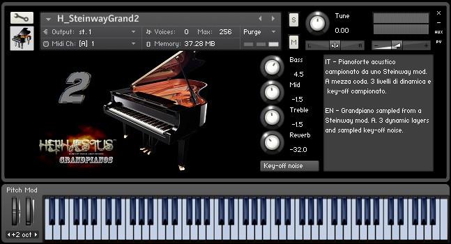 Steinway Grand 2 free Kontakt library by Hephaestus Sounds