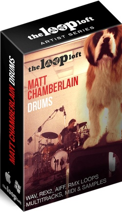 The Loop Loft Matt Chamberlain Drums