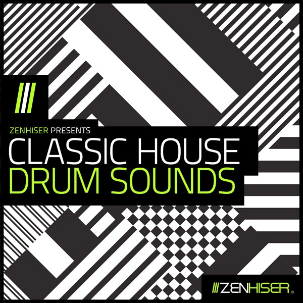 classic house drum sounds sample pack by zenhiser