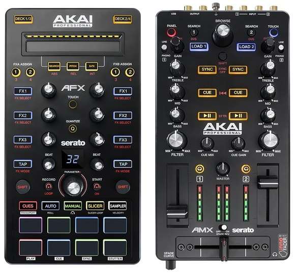 Akai AFX and AMX controllers