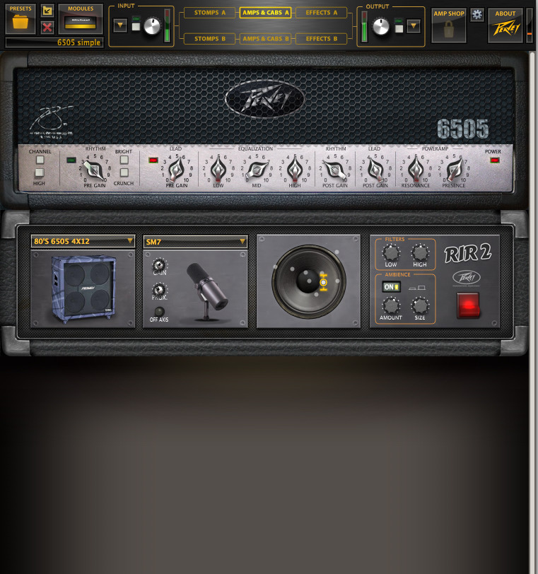 Revalver 4 Amp Modeling Effect By Peavey Released
