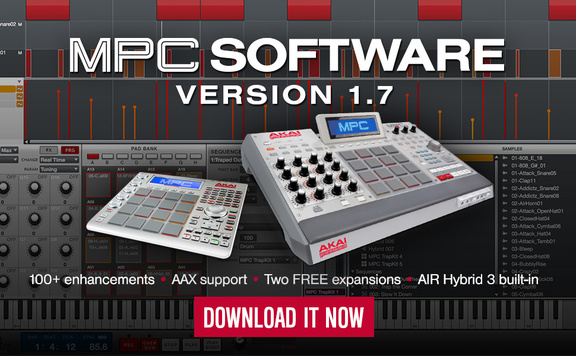 Akai Professional MPC Software v1.7