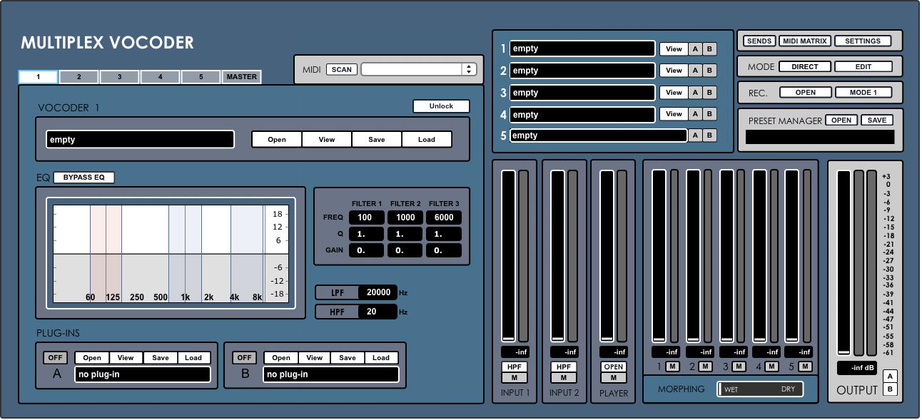 Digital Brain Instruments Multiplex Vocoder software updated