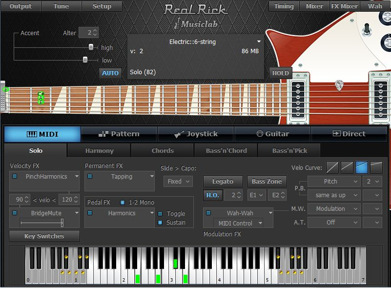 realrick guitar plugin released by musiclab. Black Bedroom Furniture Sets. Home Design Ideas