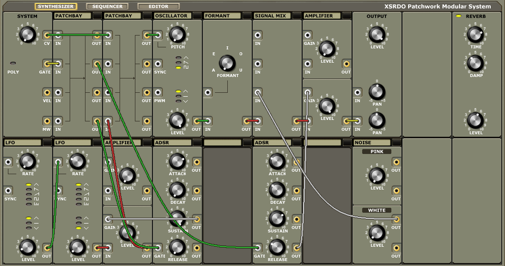 XSRDO Patchwork Modular System updated to v0 58 beta