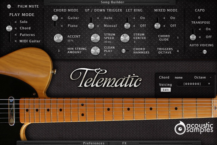 Acousticsamples GD-6 & Telematic guitars updated