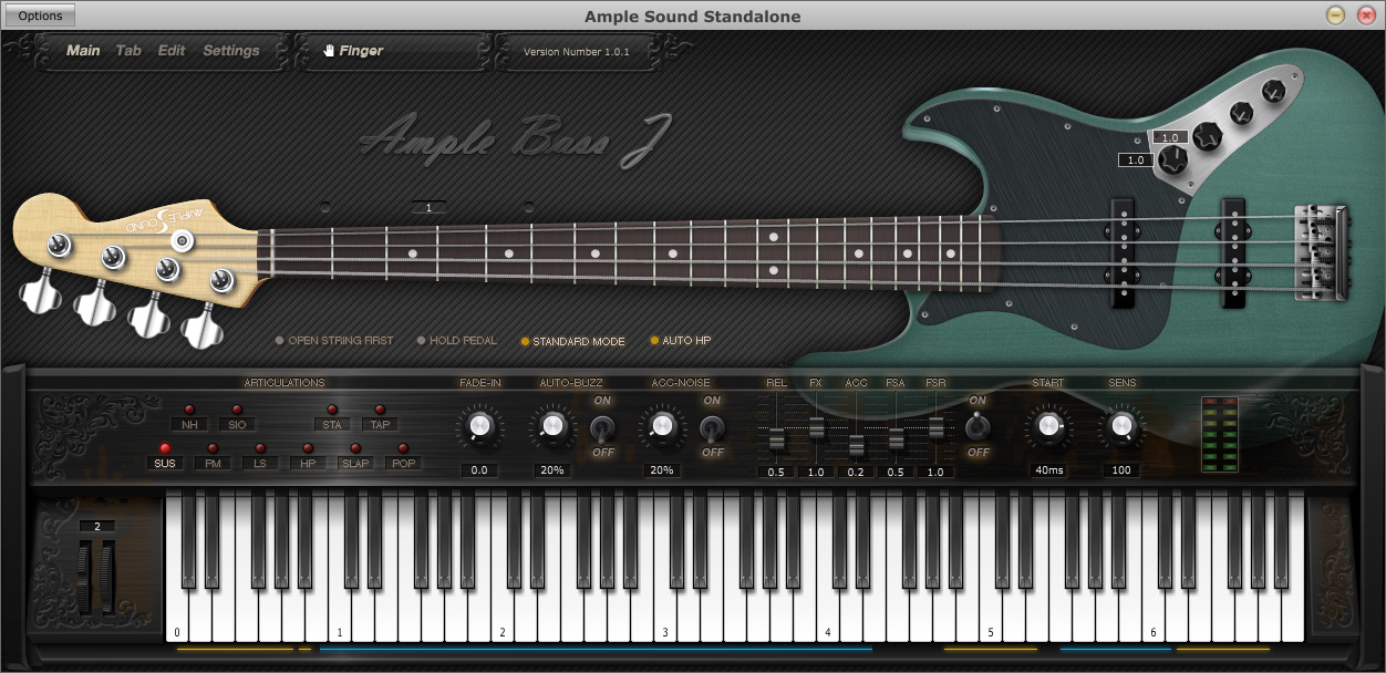 ample bass j electric bass instrument by ample sound. Black Bedroom Furniture Sets. Home Design Ideas