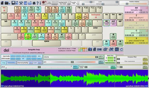 Soundplant 42 software sampler released by Marcel Blum