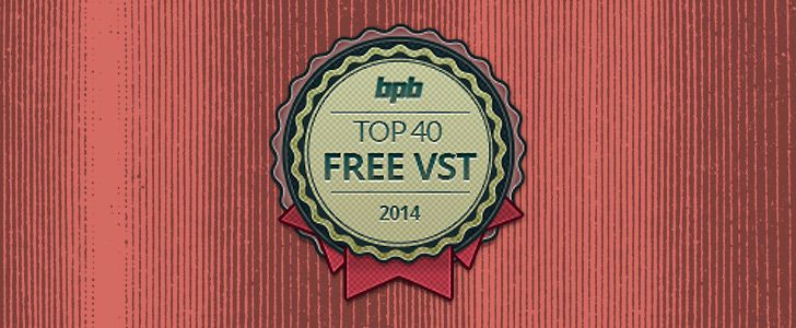 Top 40 Freeware VST Plugins of 2014