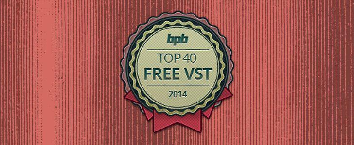 Top 40 Freeware VST Plugins of 2014