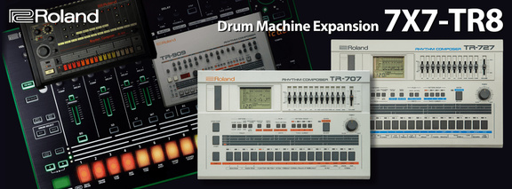 Roland 7x7-RT8 Drum Machine Expansion